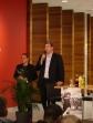 Begrüssung durch Eintracht-Vorstand Axel Hellmann